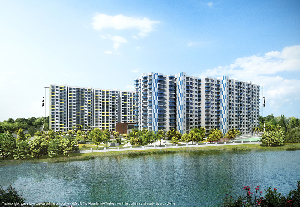 Adarsh Palm Retreat Lake Front (POSSESSION:DEC-2020)