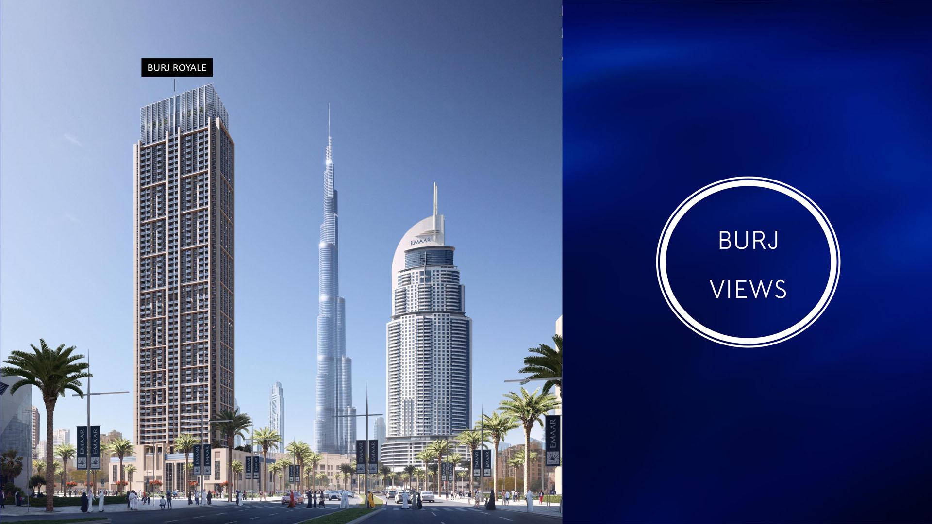 Emaar Burj Royale (POSSESSION:OCT-2022)