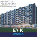 EVK AVASA Kollur 2bhk 3bhk flats available sizes from 1185 sft to 2400 sft